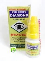 Даймонд, Алмаз, Глазные капли / Diamond Eye Drops, Haridwar's Farmacy / 10 ml