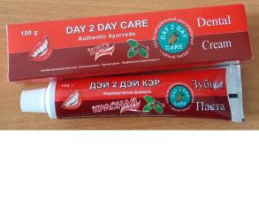 Зубная паста без фтора Дэй ту Дэй Кэр Красная