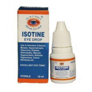Айсотин (Isotine) - капли для глаз, Джагат Фарма, Индия, 10мл