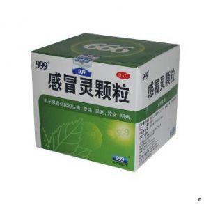 """Гранулы от простуды """"Ганмаолин Кэли"""" (Ganmaoling Keli) 999, 9 пак по 10 гр."""