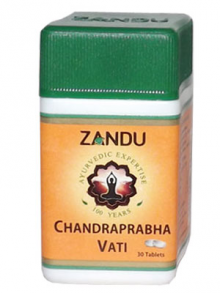 Чандрапрабха вати – Chandraprabha vati (ZANDU), 30 табл.