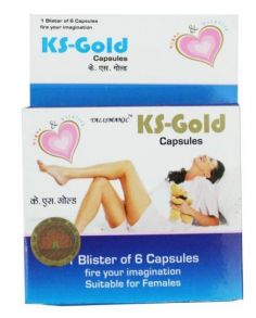 Женский возбудитель КС-голд вумен (KS-gold women) 6кап
