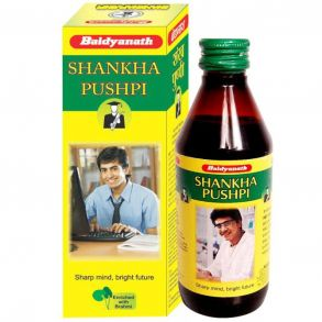Shankhapushpi syrup (Шанкхапушпи сироп) - помогает улучшить концентрацию,200мл+100мл