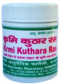 Krmi Kuthara Ras Adarsh  аюрведическое противогельминтное средство