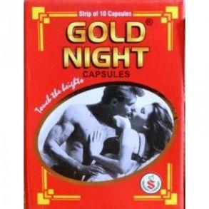 GOLD NIGHT , 10 кап,потенция