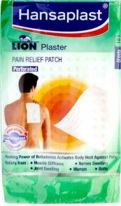 Hansaplast Lion Plaster Pain Relief Patch 10шт 17см*11см