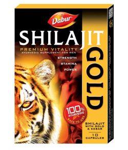 Шиладжит gold (мумие) - победитель в борьбе с процессами старения организма человека,10 кап
