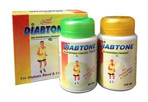 Диабтон Плюс (Diabtone Plus, Shri Ganga) 120 таб + 60 таб
