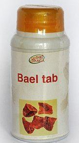 Баель Shri Ganga «Bael Tab» помогает при излечении язв кишечника,120 таб